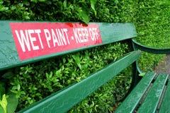 Wet Paint Stock Photos