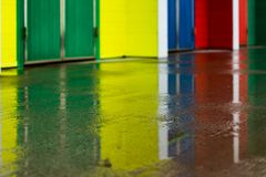 Wet paint Royalty Free Stock Photo