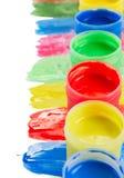 Wet paints Stock Image