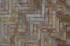 Wet pavement tiles Stock Image
