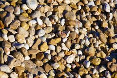 Wet pebble texture royalty free stock images