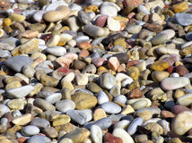 Wet pebbles Royalty Free Stock Photo