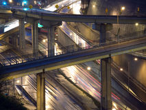 Wet Pittsburgh Freeway Stock Photography
