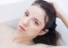 Wet portrait Royalty Free Stock Images