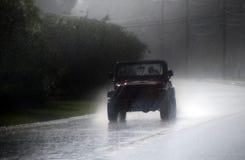 Wet ride Stock Photo