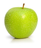 Wet ripe apple Stock Photography