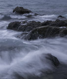 Wet Rocks Royalty Free Stock Photography