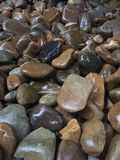 Wet rocks. A wet rock background or backdrop Royalty Free Stock Photos
