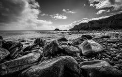 Wet rocks Stock Photography