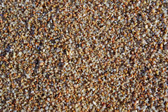 Wet sand. Royalty Free Stock Photos