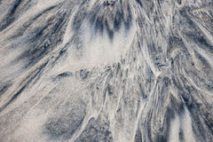 Wet sand abstract Royalty Free Stock Image