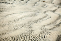 Wet Sand Abstract Stock Photography