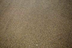 Wet sand beach texture Stock Photography