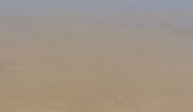 Wet sand. Beige texture. Can be used as background Stock Photos