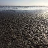 The wet sand Royalty Free Stock Photography
