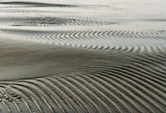 Wet sand. Stock Photo