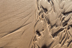 Wet sand texture Royalty Free Stock Image