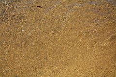 Wet sand background royalty free stock photo