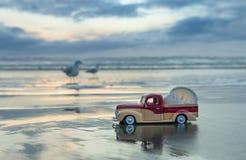 Wet Sand Truck Stock Photos