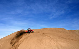 Wet Sand Turn Stock Images