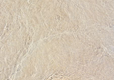 Wet sand. The sand under the water. Beige texture. Can be used as background Royalty Free Stock Photo