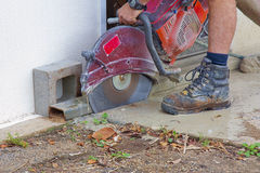 Wet saw Royalty Free Stock Images