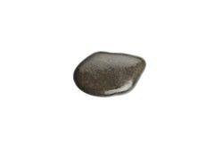 Wet sea stone isolated on white background Stock Images