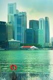 Wet Singapore Royalty Free Stock Image