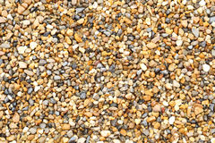Wet small pebble as texture or background Royalty Free Stock Photo