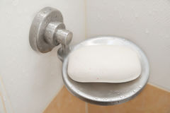 Wet soap holder Royalty Free Stock Photos