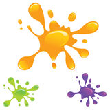 Wet Splatters Set -EPS Vector- Stock Photos