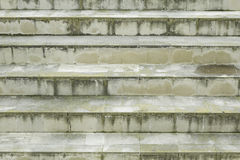 Wet stairs Royalty Free Stock Photography