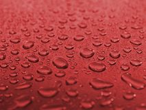 Wet steel. Steel covered drops of  water Stock Images