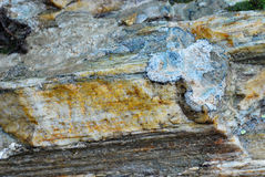 Wet stone background Stock Photos