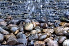 Wet stone Stock Photo