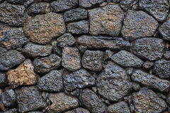 Wet stone wall Royalty Free Stock Photos