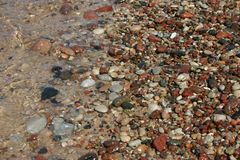 Wet stones Royalty Free Stock Photos