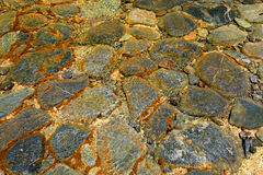 Wet stones in water. Abstract background Royalty Free Stock Photo