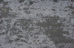 Wet street tiles Royalty Free Stock Image