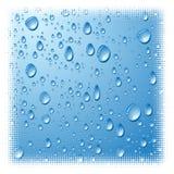 Wet surface. Grunge wet surface. Vector illustration Stock Images