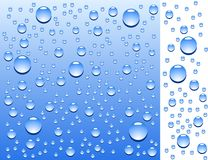 Wet surface. Blue wet surface. Vector illustration Royalty Free Stock Photos