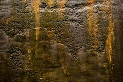 Wet surface and texture. Of gray concrete or cement Royalty Free Stock Image