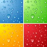 Wet surfaces. Stock Image