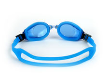 Wet swimming goggles Stock Photography