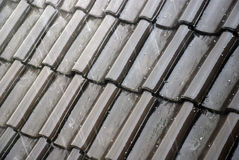 Wet tiles Royalty Free Stock Image