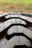 Wet tire Stock Photography
