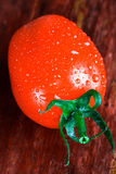 Wet tomato Royalty Free Stock Photos