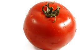 Wet tomato Stock Photo