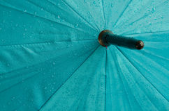 Wet umbrella Stock Image