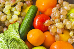 Wet vegetable Royalty Free Stock Photo